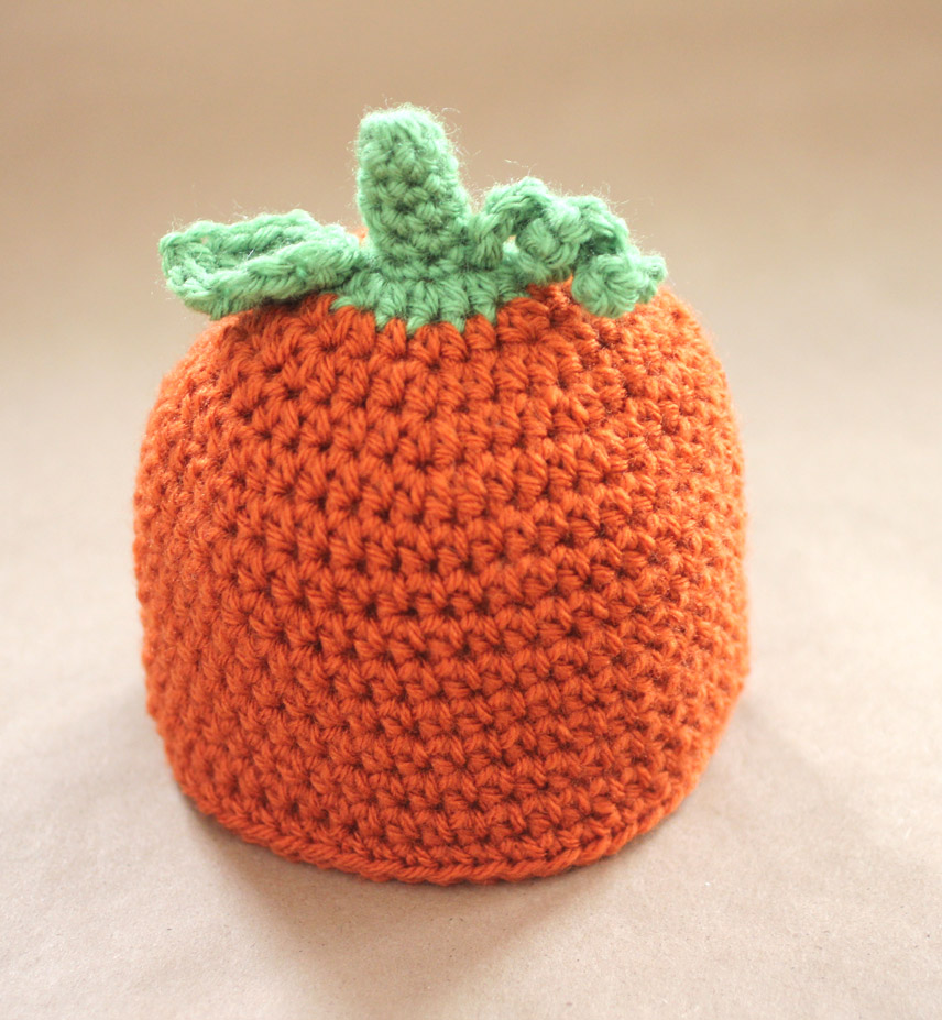 Crochet Pumpkin Hat Pattern and GIVEAWAY! - Repeat Crafter Me df5dd418066