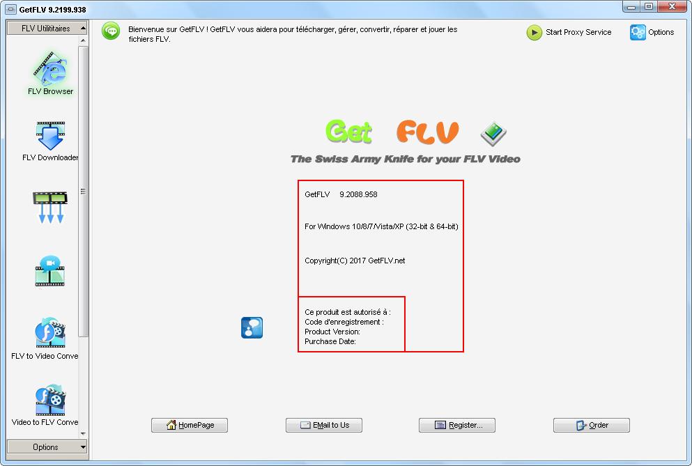télécharger GetFLV Pro 9.2199.938 Crack