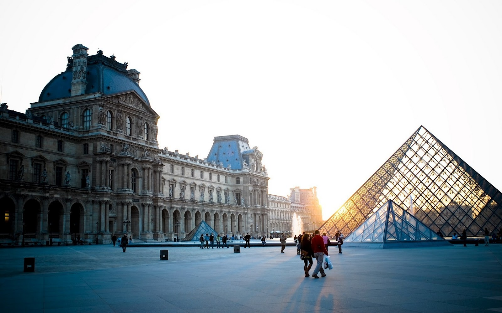 Paris Louvre Glass Pyramid HD Wallpapers| HD Wallpapers