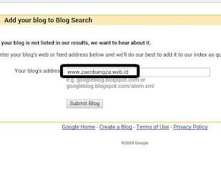 Cara Agar Blog Baru Cepat Ter- Index Oleh Google.