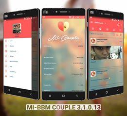 BBM MOD Mi-BBM Couple v3.1.0.13 APK Terbaru