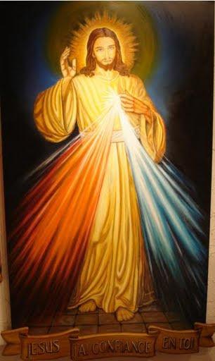Affiche du Dimanche de la miséricorde divine