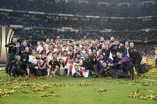 FÚTBOL - La Copa Libertadores celebrada en Madrid acaba dando el cuarto entorchado al River Plate