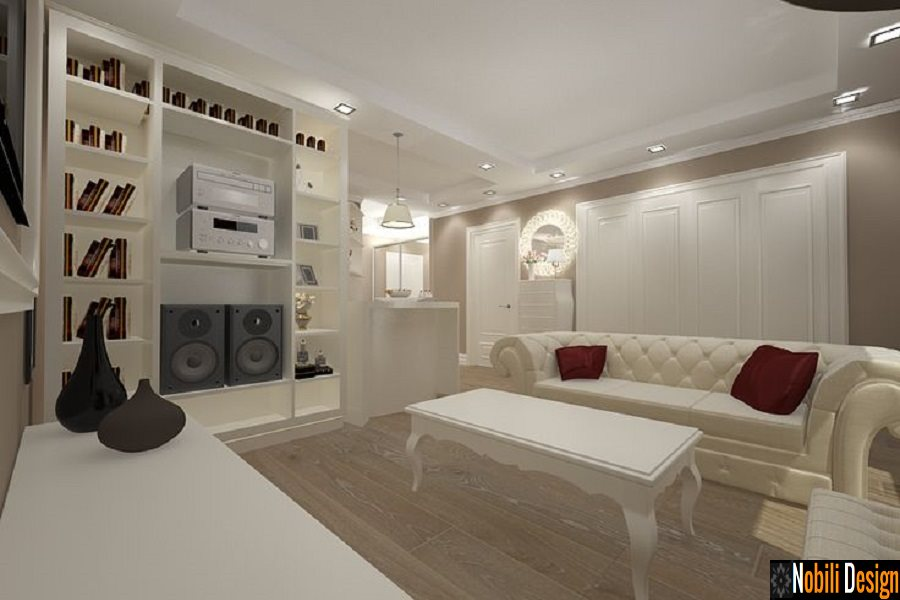 Design interior apartament 2 camere stil clasic Bucuresti - Amenajari Interioare| Design interior - apartament clasic - Pitesti.