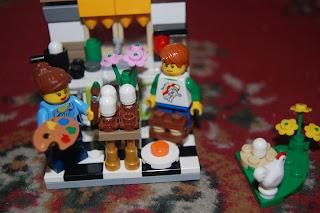 Lego building can create creativity