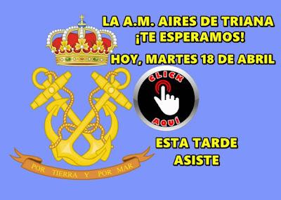 Asiste hoy martes a la reunión de la A.M. Aires de Triana que tendrá lugar en el polígono NAVISA y que es un gran proyecto musical para los amantes de la música cofrade de Sevilla y alrededores y que retoma el proyecto original de la Banda Tres Caídas de Triana