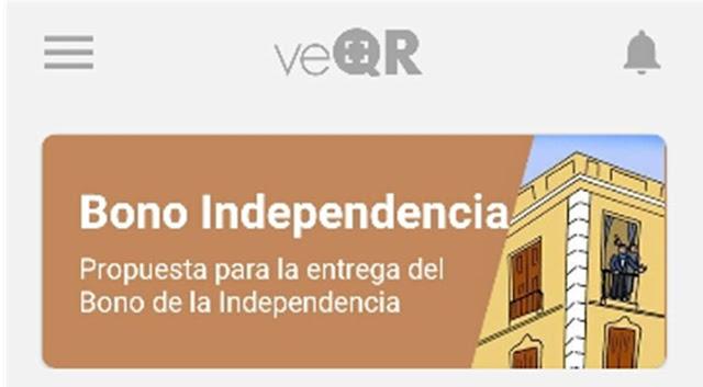 Resultado de imagen para bono de independencia