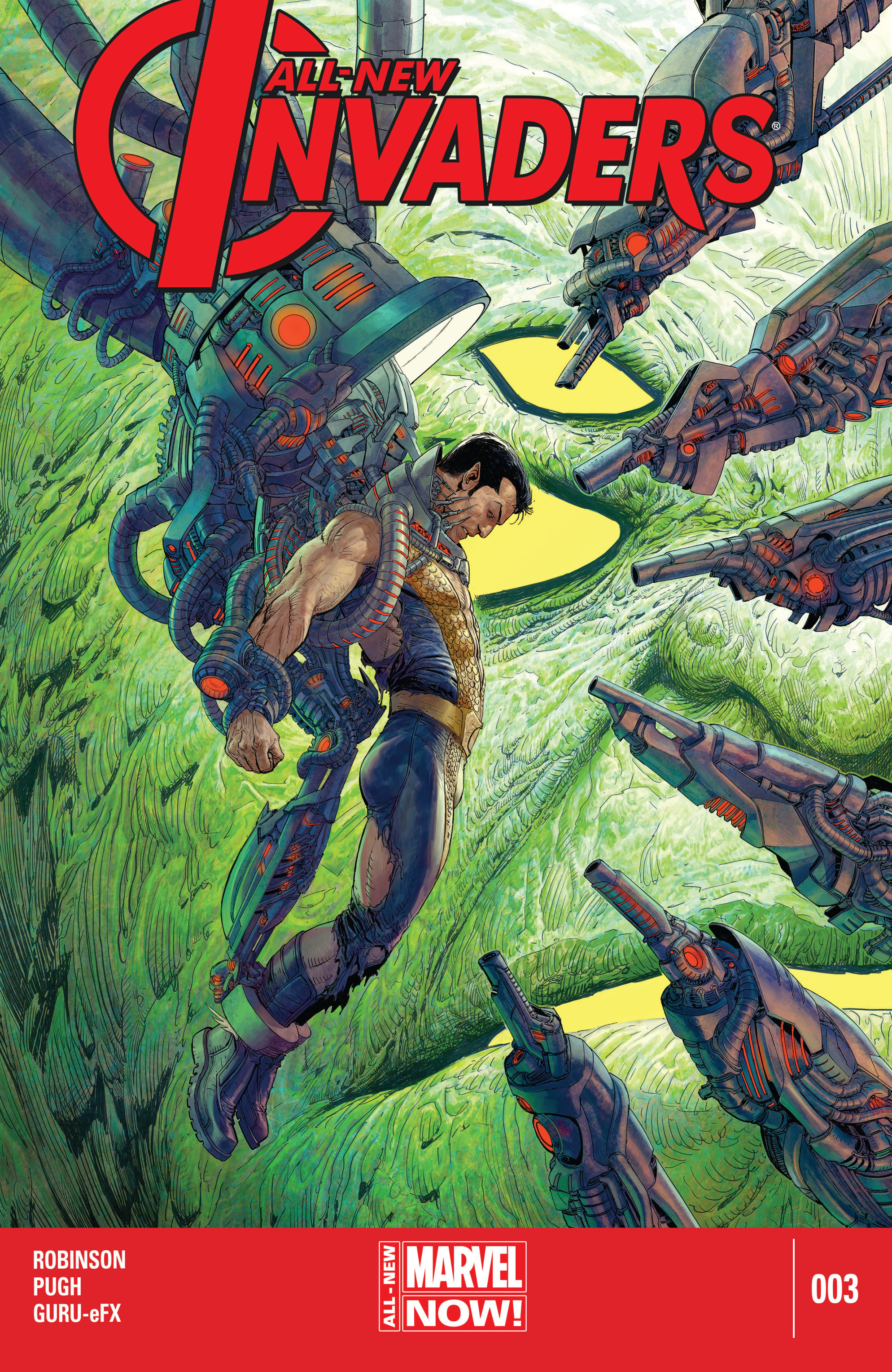 Read online All-New Invaders comic -  Issue #3 - 1