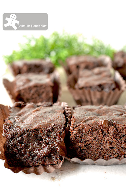 ultimate chocolate loaded brownies