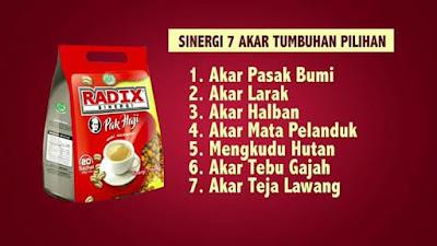 Kandungan 7 akar kopi radix