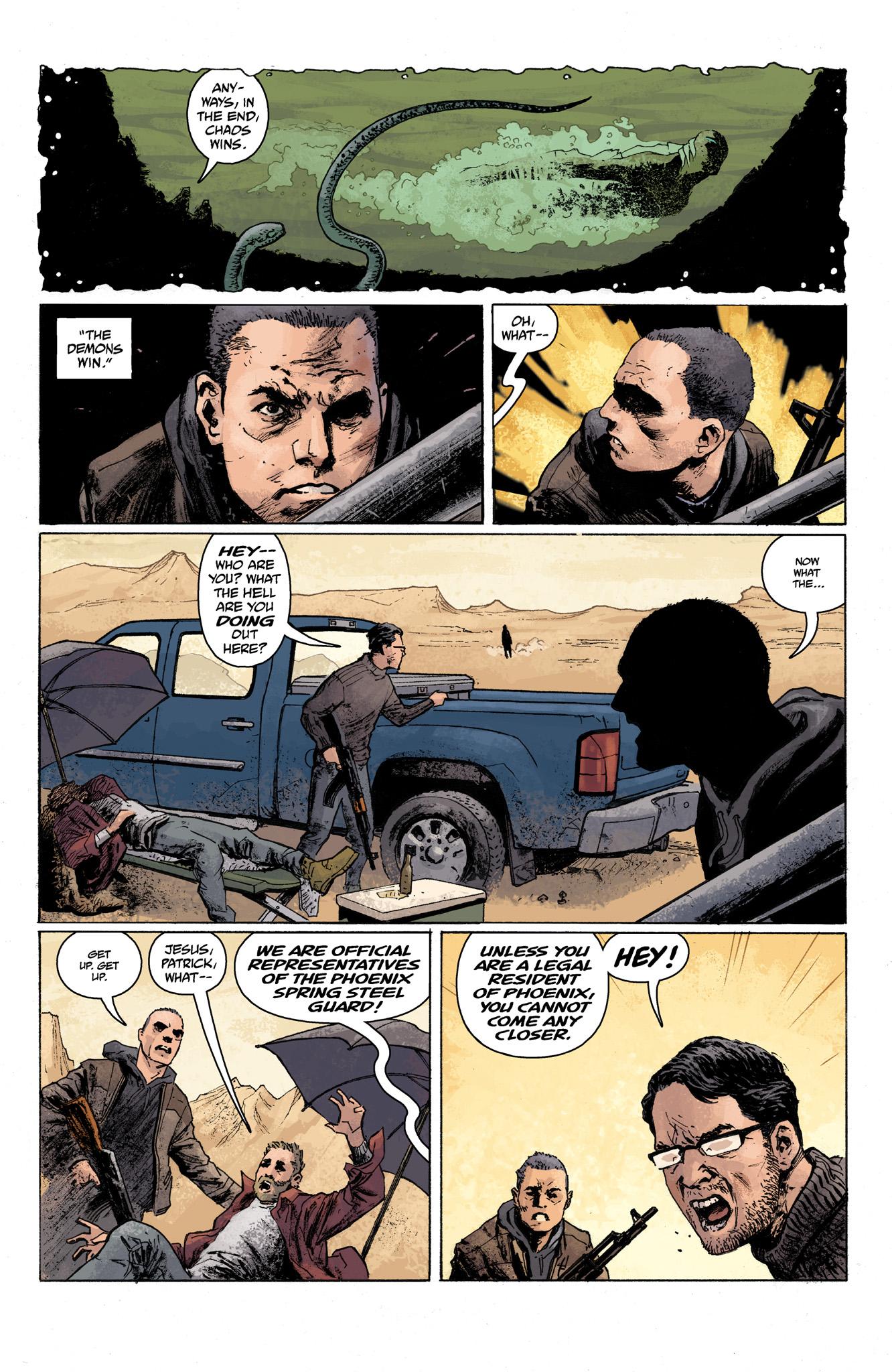 Read online Abe Sapien comic -  Issue #7 - 6
