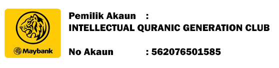 Akaun Maybank Intellectual Quranic Generation Association