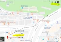 Peta lokasi Titik Jemput Penumpang Ojek Online Gojek-Grab di Terminal Joyoboyo Surabaya