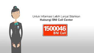 Nomor Telepon Layanan Call Center Bank BNI 24 Jam