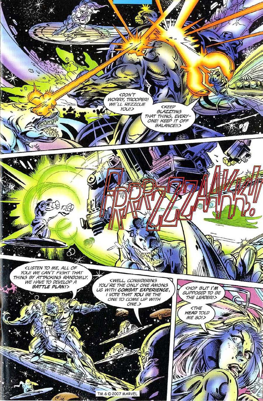 Read online Silver Surfer (1987) comic -  Issue #117 - 17