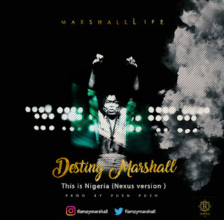 AUDIO + VIDEO: Destiny Marshall - This is Nigeria (Nexus version)