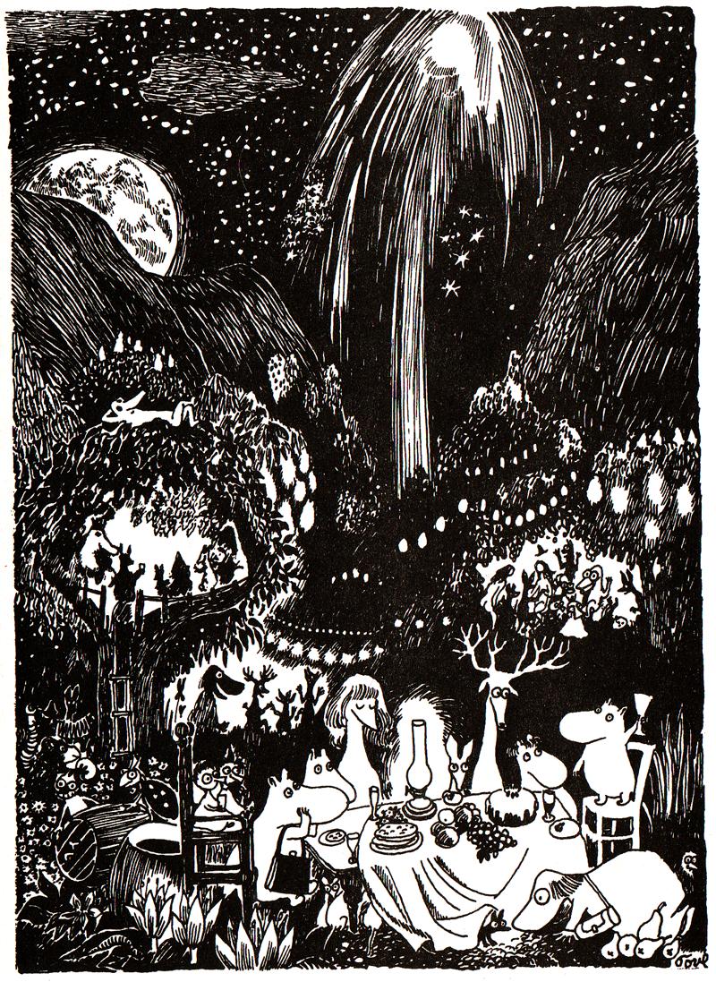 En tidig komet fran mumindalen 2