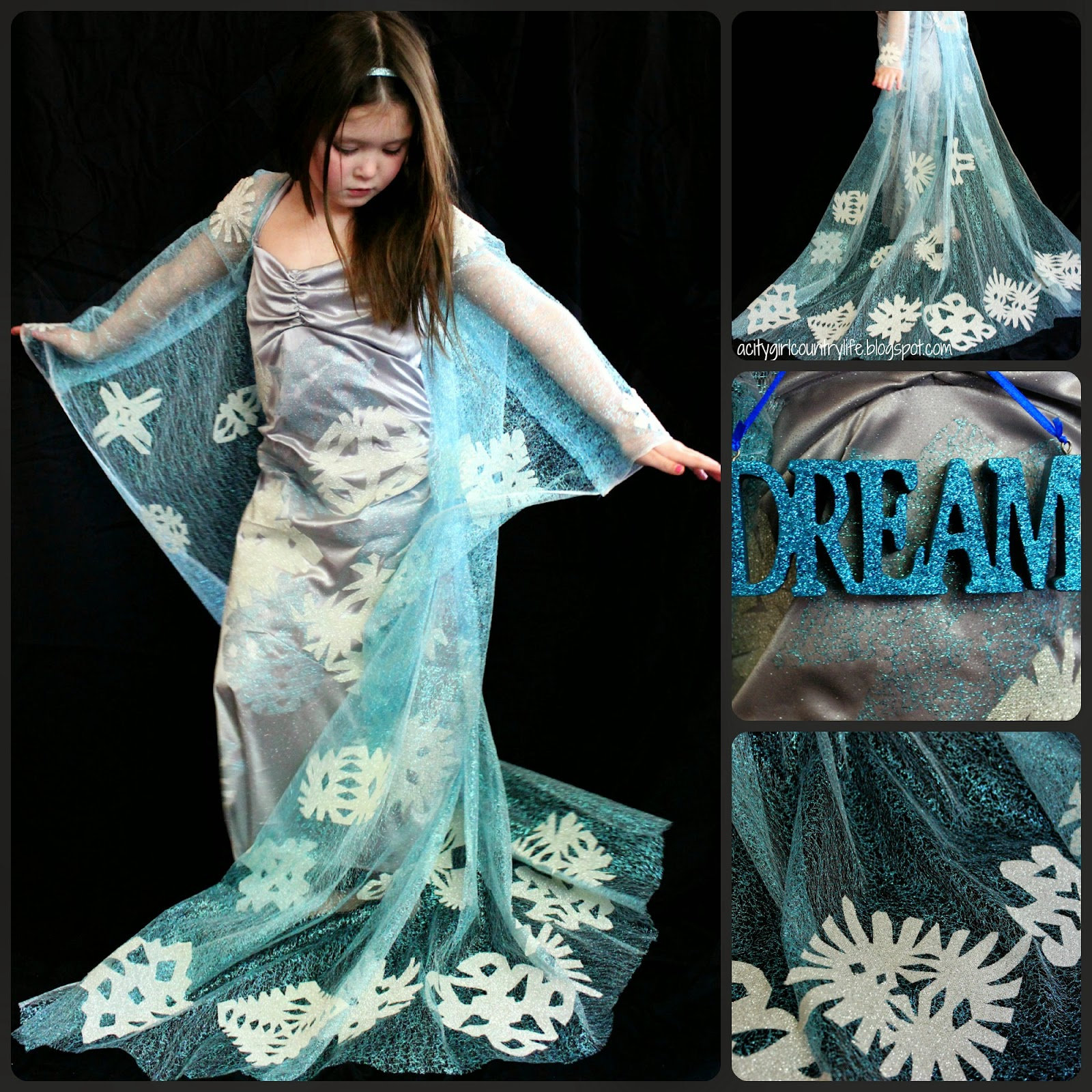 City Girl Country Life: Frozen Elsa Dress