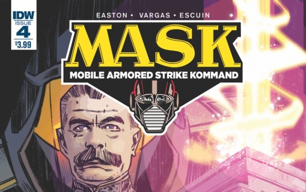 M.A.S.K. #4 Now Available in Comic Shops and Digital Download