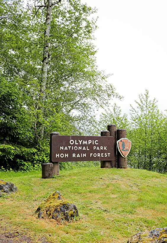 Olympic National Park and the Hoh Rain Forest, Washington, USA