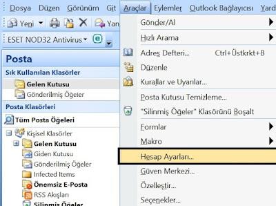 Natro Pop3 E-mail Ayarları