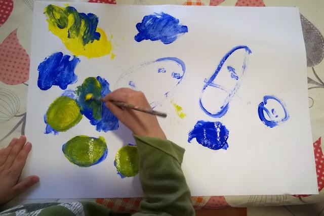 laboratorio piccolo giallo piccolo blu
