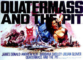 Original UK poster for Quatermass and the Pit