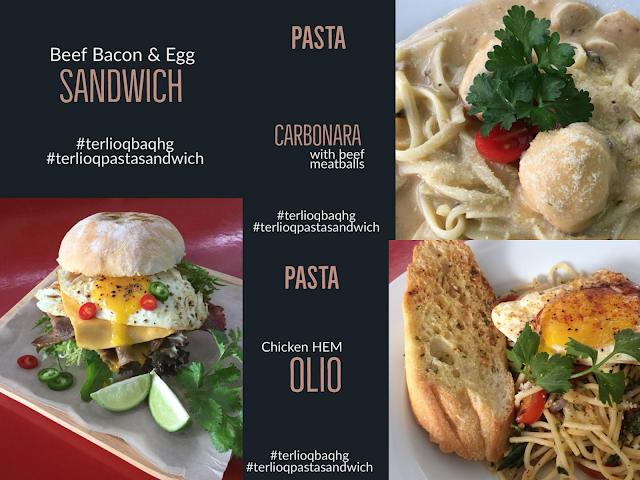 Terlioq Pasta Sandwich Kompleks Desiran Tanjung, Tanjung Tokong, Penang