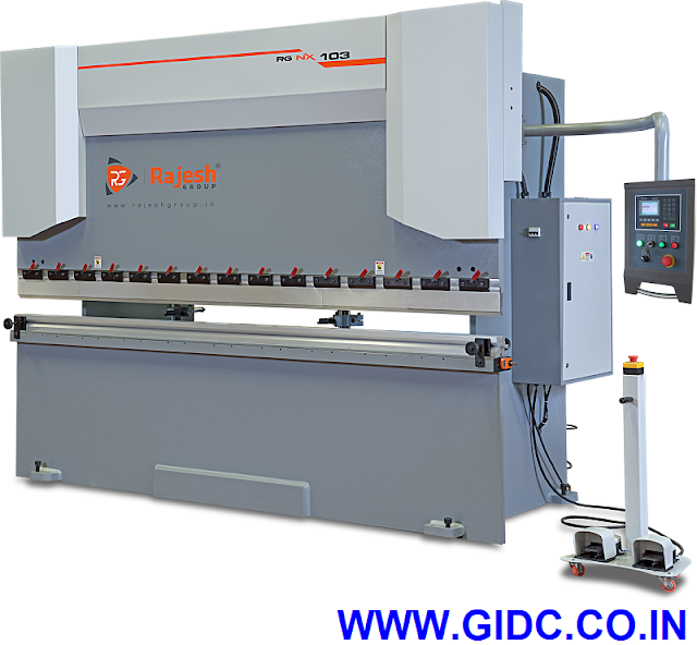 RAJESH MACHINE TOOLS PVT. LTD. Hydraulic Front Cylinder Press Brake Machine - 9081055595 | 9724028080 | 9624895360