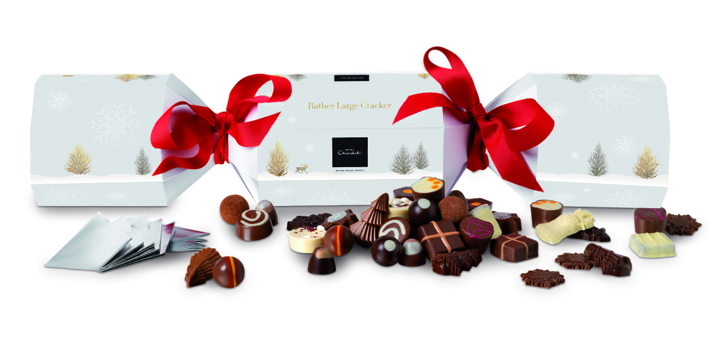 Hotel Chocolat Christmas Cracker Giveaway on Modern Bric a Brac blog