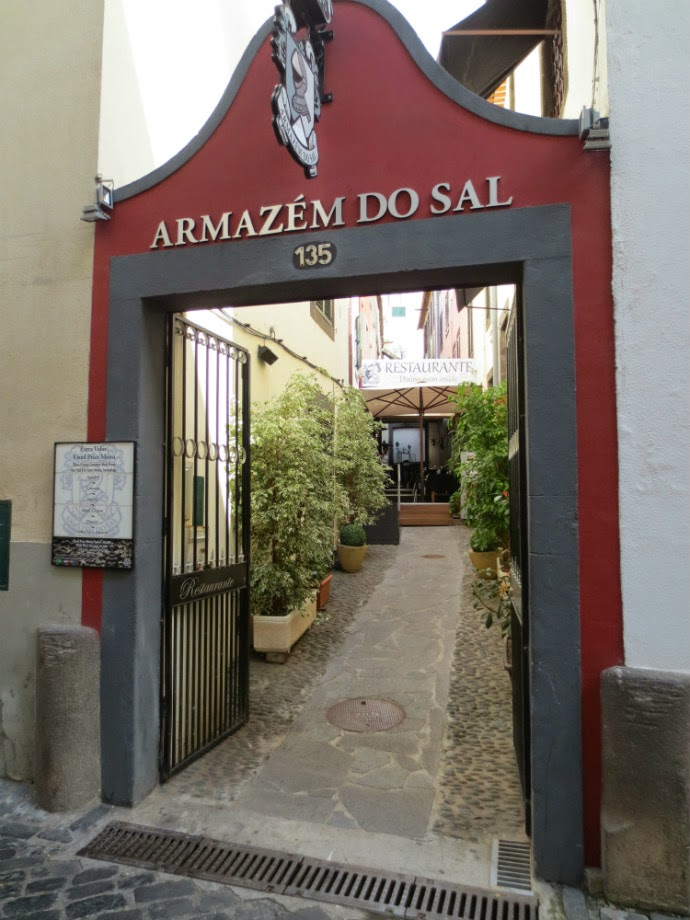 Armazém do Sal is a good restaurant in an old building