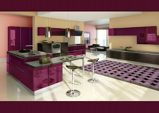 cocina colores morados