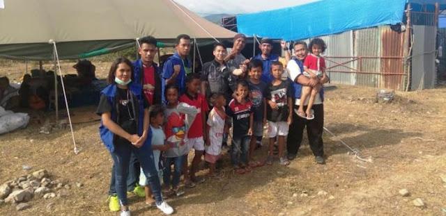Di Palu, Tim Cebong dan Tim Kampret Bersaing Bantu Korban