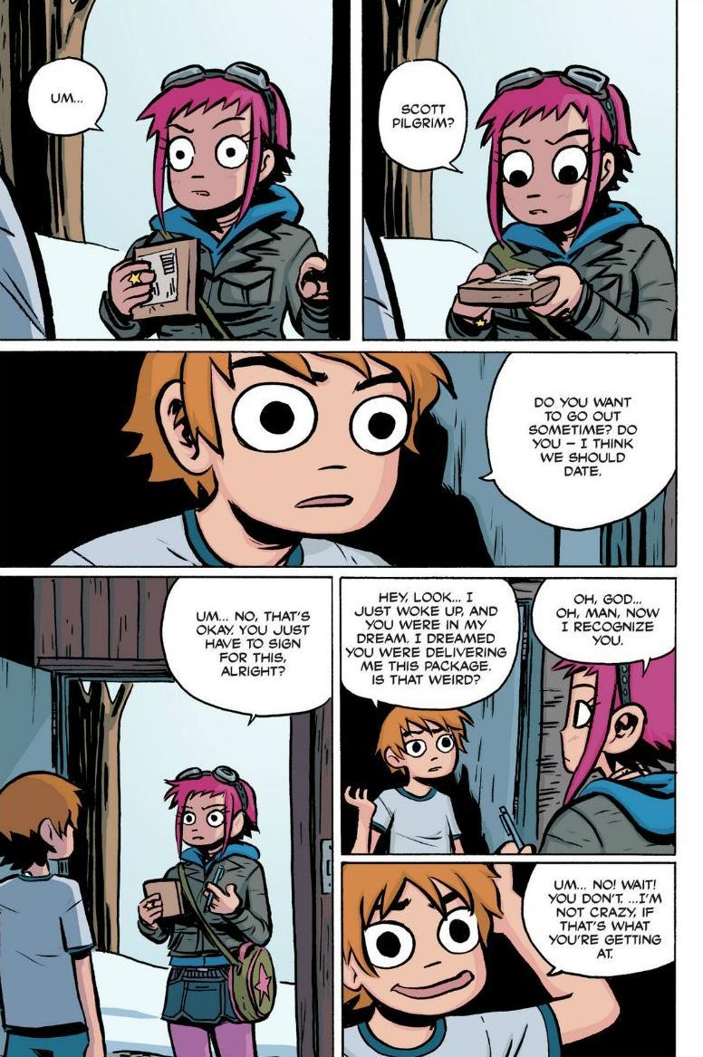 Read online Scott Pilgrim comic -  Issue #1 - 74