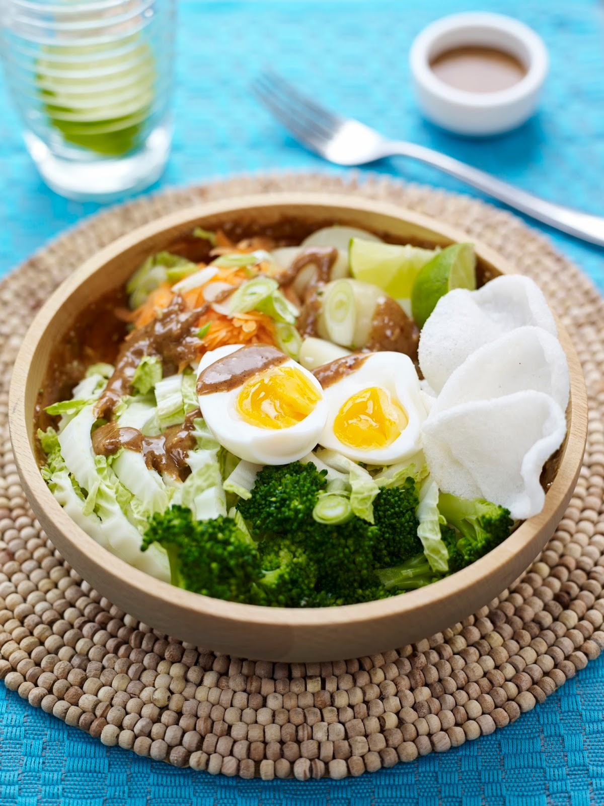 Gado Gado Salad Bowl: Big On Taste & Great For Sharing