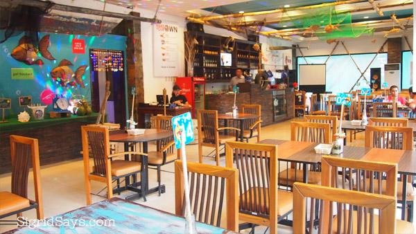 The INNS Bacolod restaurant