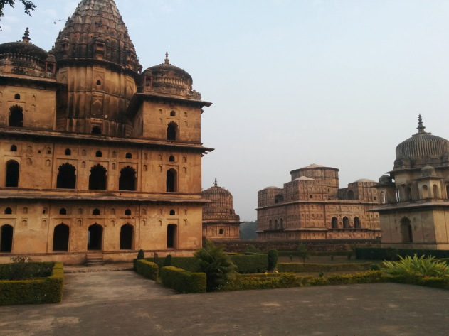 Gorgeous cenotaphs of Orchha, Madhya Pradesh