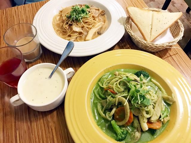 台北葷素沙拉吧吃到飽~威尼斯義大利餐廳