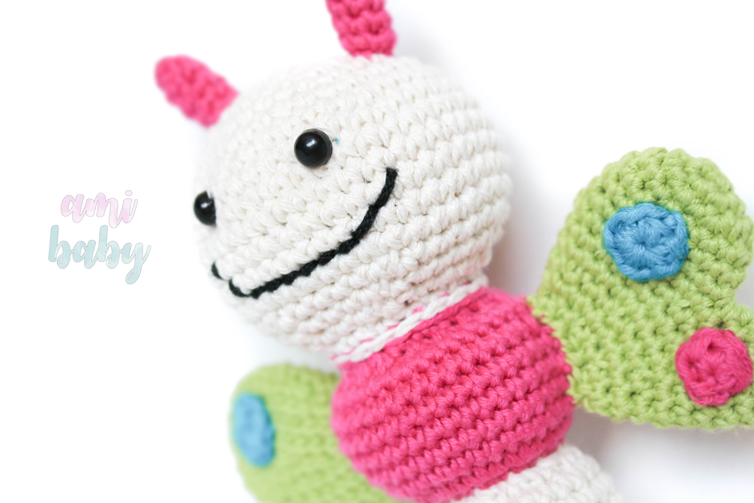 Mariposa sonajero patron lilleliis, regalo perfecto para tu bebe ...