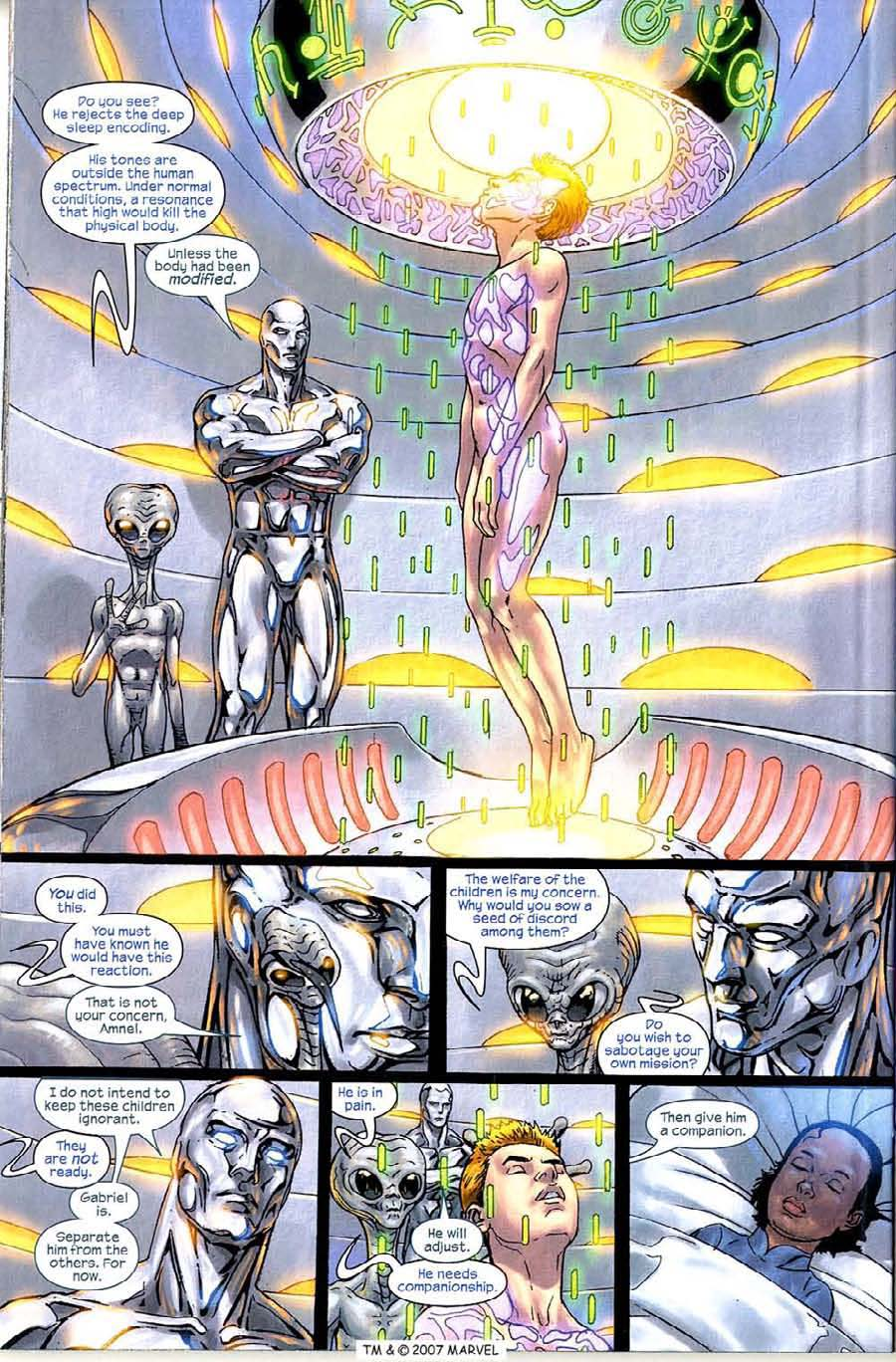 Read online Silver Surfer (2003) comic -  Issue #4 - 30