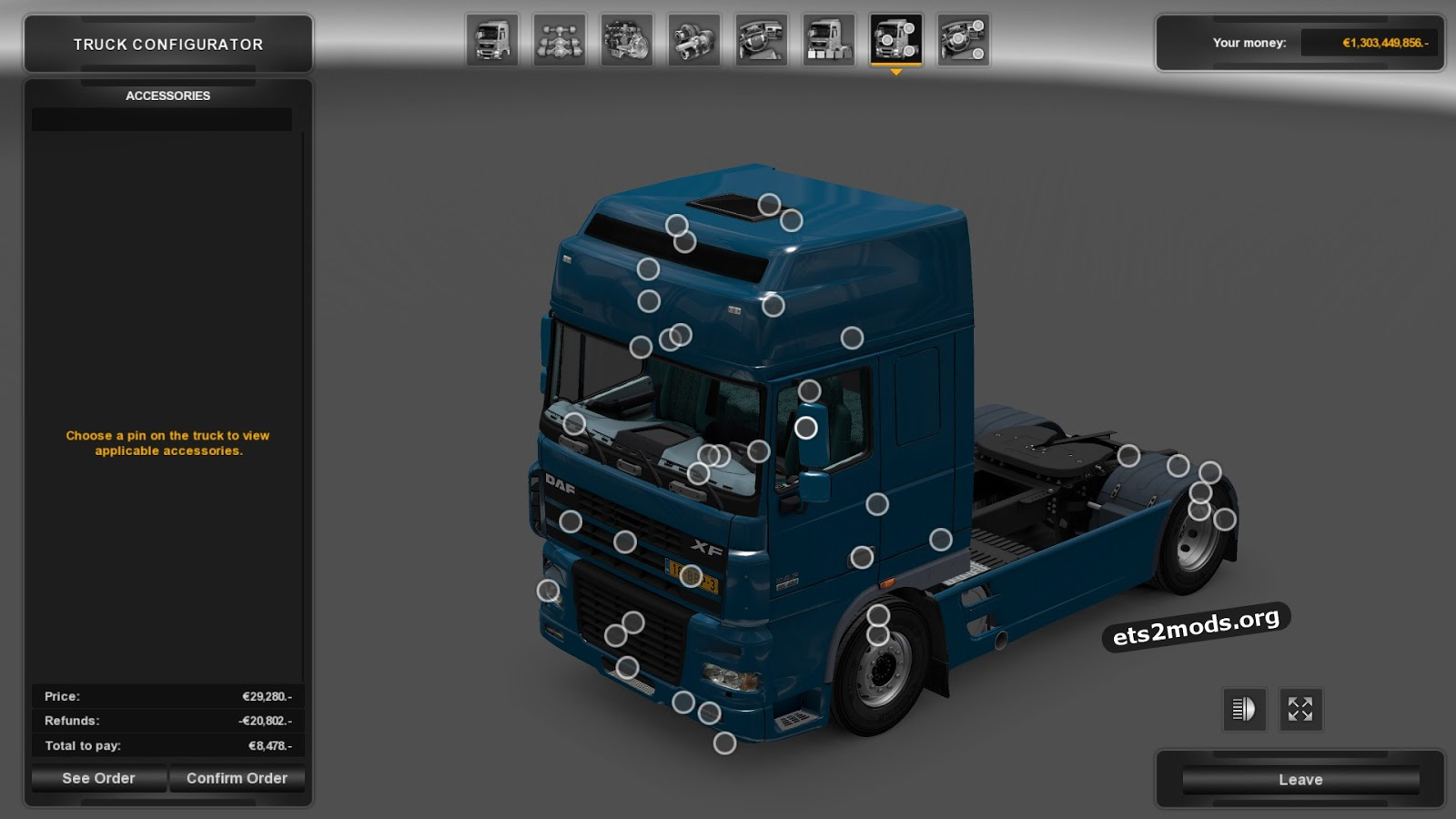 Download DAF XF ...I 95 Sc Traffic