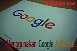 Cara Menggunakan GoogLe Adsense [ Untuk Menghasilkan Uang dengan Blog ]