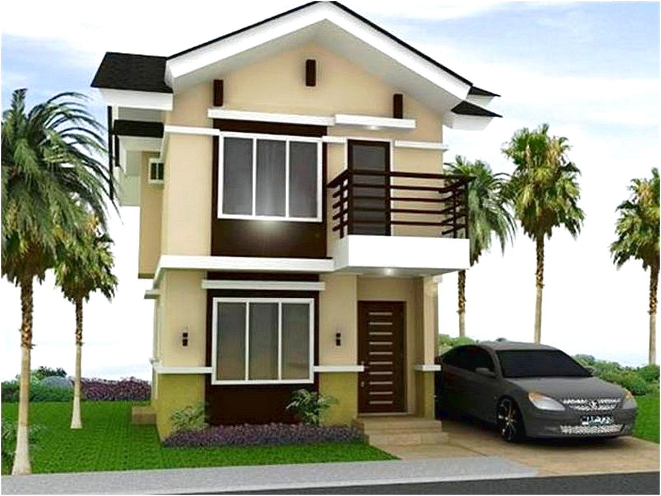 ⊕ 65 model desain minimalis 2 lantai modern mewah indah