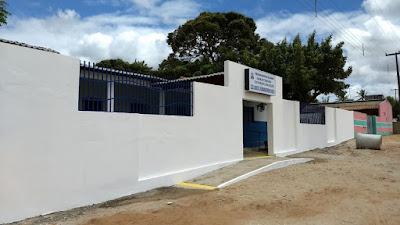 Obra da Escola Ferdinando Pereira do Couto está em fase final
