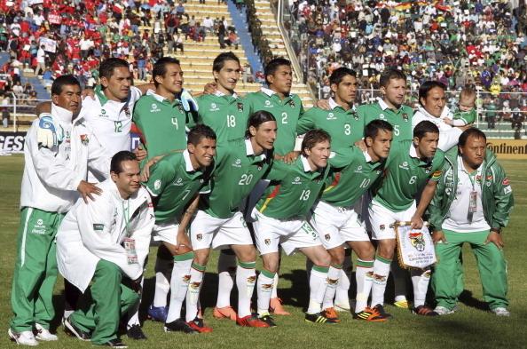 Formación de Bolivia ante Chile, Clasificatorias Brasil 2014, 2 de junio de 2012