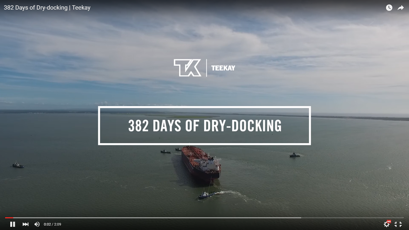 WATCH: A Glimpse into the Dry-docking Process at Teekay (Video)