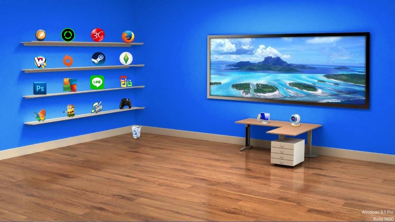 Foto Wallpaper Keren 3d: Cara Membuat Desktop PC Menjadi Lebih Keren