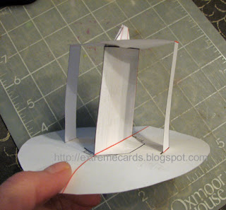 tea cup pop up card