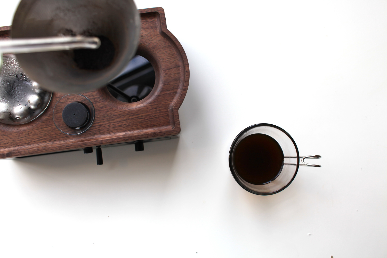 sprzęt do parzenia kawy