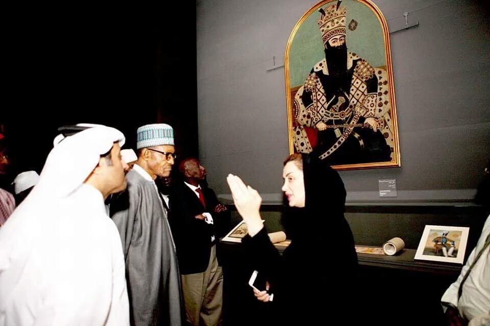 buhari museum art doha qatar